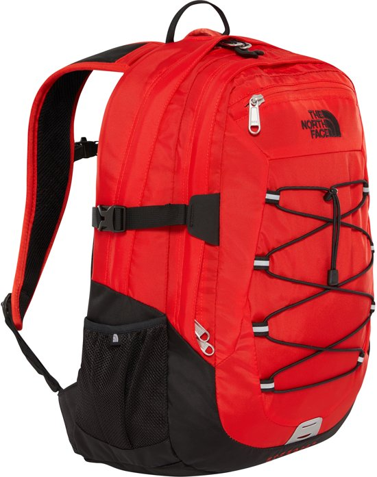 The Borealis Tnf Black Red Unisex Rugzak Fiery North Classic Face a8qxaw4r