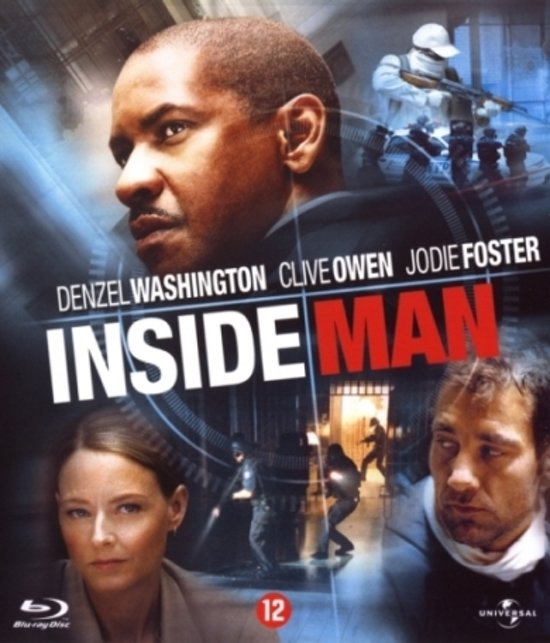 Cover van de film 'Inside Man'