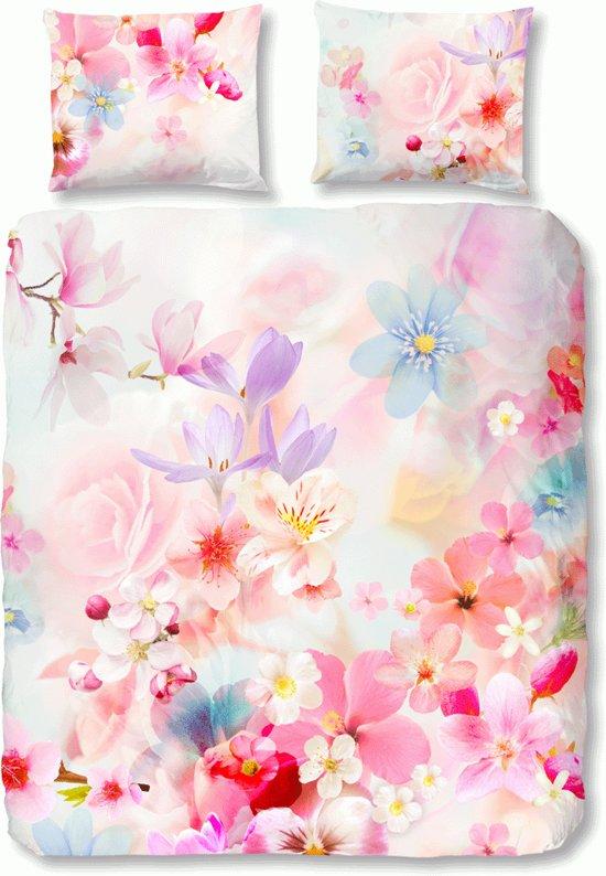 Bol lits jumeaux dekbedovertrek met bloemen print multi