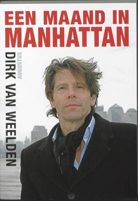 Cover van het boek 'Een maand in Manhattan'