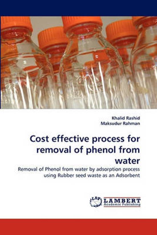 Cost Effective Process for Removal of Phenol from Water