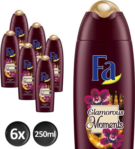 Fa Douche gel Glamorous Moments Voordeelverpakking - 6 x 250ml