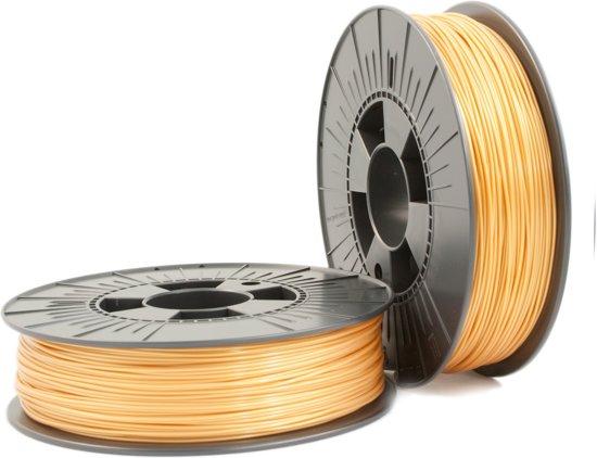 PLA 1,75mm yellow gold 0,75kg - 3D Filament Supplies
