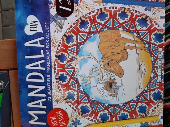 Kleurplaten Volwassenen Papegaai.Bol Com Kleurboek Volwassenen Mandala Fun Papegaai Groen