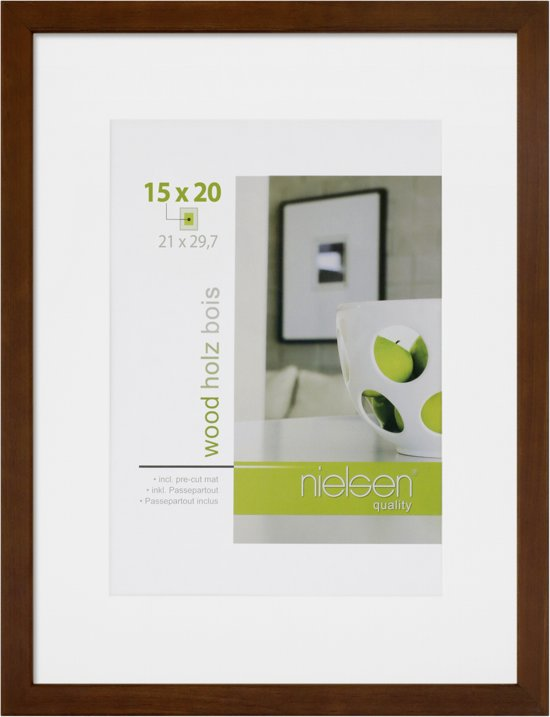 Nielsen Apollo wenge 21x29,7 hout DIN A4 8988049
