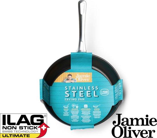 Jamie Oliver Mid Tier Koekenpan à 20 cm