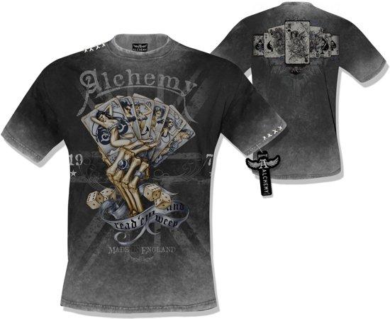 Alchemy AEA T-shirt Readem and weep Retro/stone - S