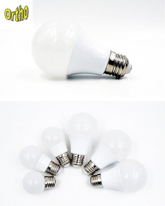 OrthoE27 5 3w 5 Stuks LED Lampen Van 3 Watt Warm Wit (vergelijkbaar
