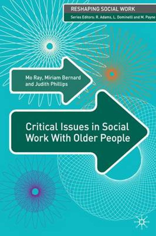 social work and older people