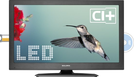 Salora 26LED7105CD - LED TV-/Dvd-combo - 26 inch - HD Ready