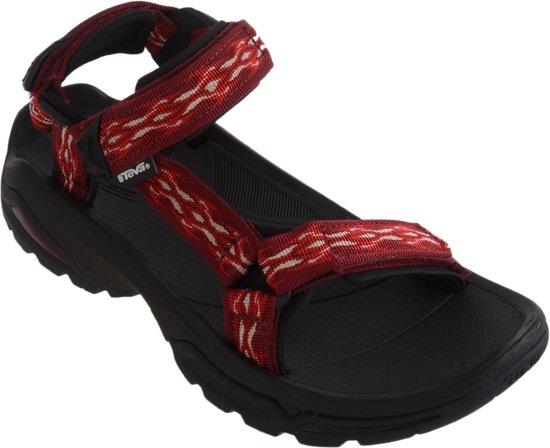 5edfc402a Teva Terra Fi 4 Sandaal Dames Wandelsandalen - Maat 40 - Vrouwen -  rood zwart