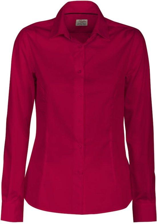 Red Printer S Lady Shirt Point 2bIYe9WEDH
