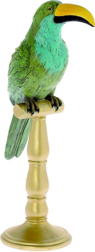 Riverdale Toekan Rico - groen - 42cm