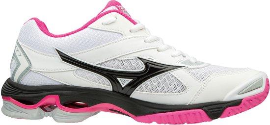 Mizuno Wave Bolt 7 wit indoor schoenen dames
