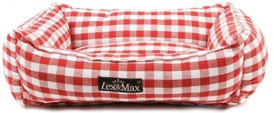 Lex & max carlos kattenmand  40x50cm rood