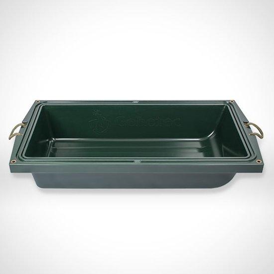 Wildbak - Jachtbak - Transportbak – Lekbak – Opbergbox – Kunststof bak - 109 x 56 x 21 cm groen