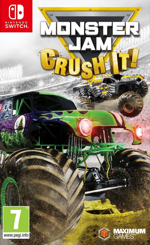 Monster Jam Crush It kopen