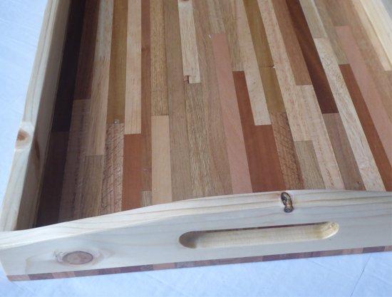 Dienblad - hout 40 x 60 cm - handgemaakt
