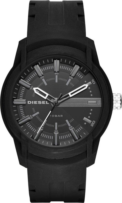 Diesel Armbar Heren horloge  - Zwart