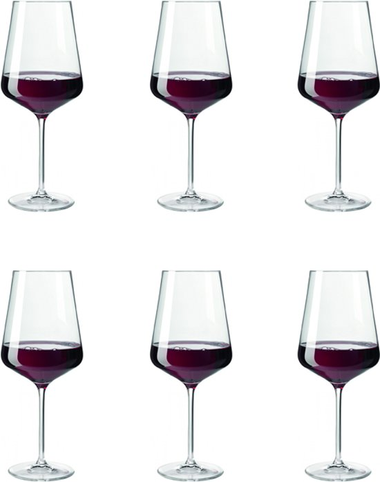 Leonardo Puccini Rode wijnglas - 0,75 l - 6 stuks