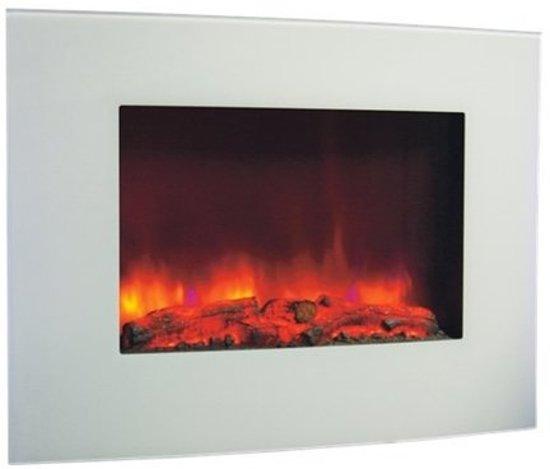 livin flame electrische hanghaard led belfort wit. Black Bedroom Furniture Sets. Home Design Ideas