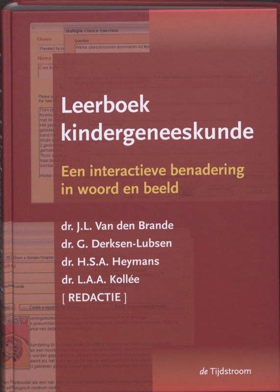 Boek cover Leerboek Kindergeneeskunde + CD-ROM van  (Hardcover)