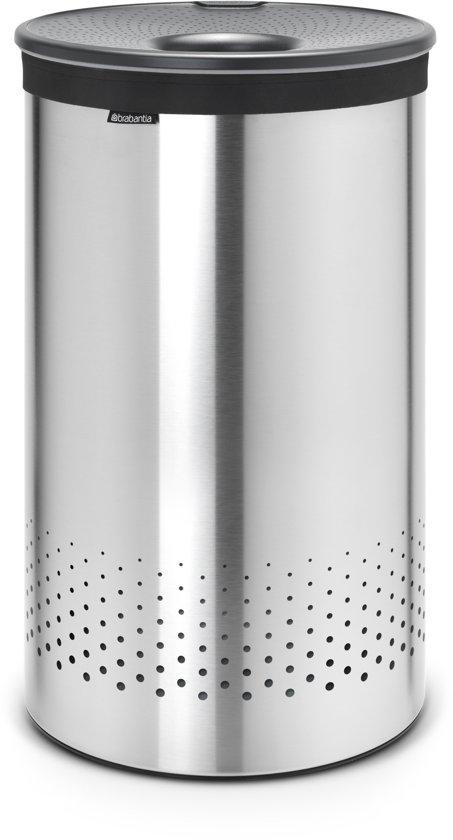 Brabantia Wasbox Rvs.Brabantia Wasmand 60 L Matt Steel