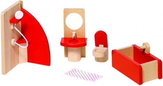Badkamer Voor Poppenhuis : Poppenhuis meubelsetje u badkamer trendy meneer de uil