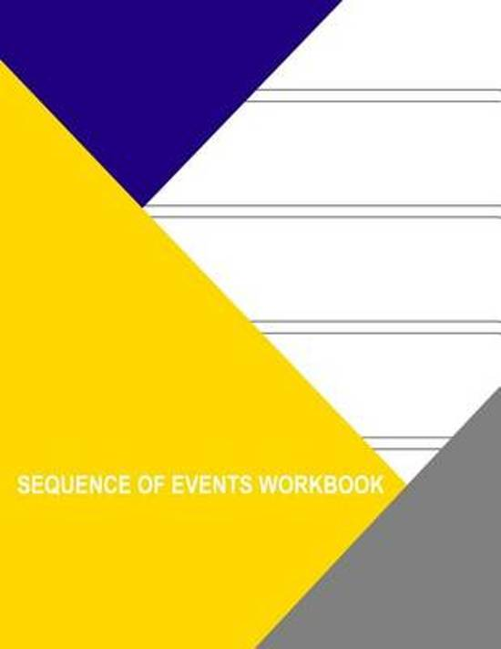 Sequence of Events Workbook