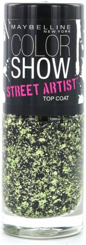 Maybelline Color Show Street Artist - 1 Boom Box Black - Topcoat
