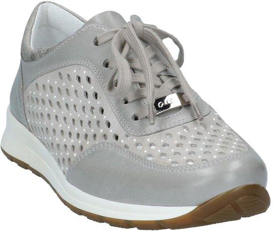 Sneakers Grijze Ara Geklede Oslo Lage pMzVqSU