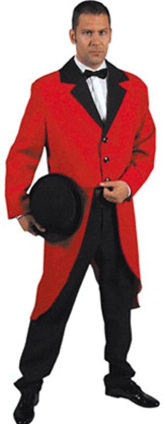 Rode slipjas voor volwassenen M (52-54)