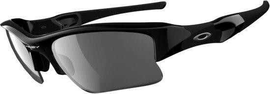 f79bc38b58b523 Oakley Flak Jacket XLJ - Sportbril - Polarized - Lenscat. 3 - ☀ - Zwart