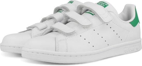 b2c6f69a1e0 bol.com | Adidas Meisjes Sneakers Stan Smith Cf J - Wit - Maat 35,5