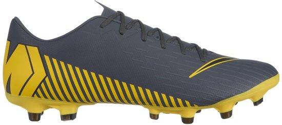 Nike Mercurial Vapor 12 Academy MG Voetbalschoen Heren Sportschoenen Maat 43 Mannen grijszwartgeel