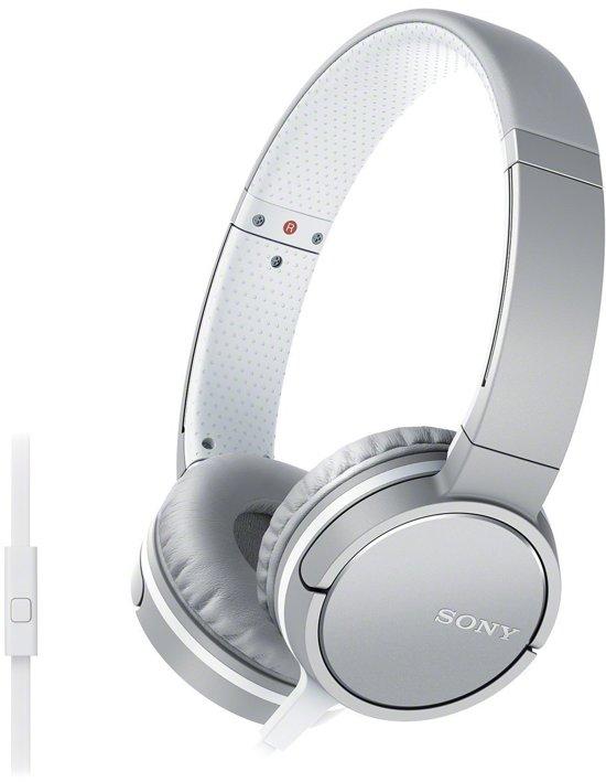 Sony MDR-ZX660AP - On-ear koptelefoon - Wit