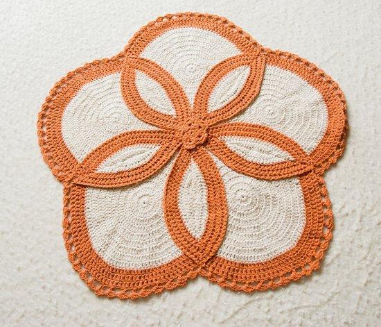 Vloerkleed Charme Twee kanten Oranje