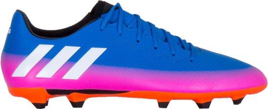 adidas Sportschoenen - Maat 40 2/3 - Mannen - blauw/roze/wit