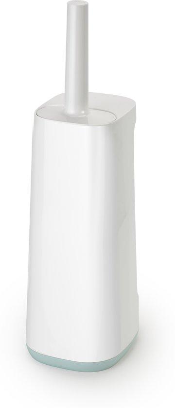 Joseph Joseph Badkamer Flex Smart Plus Toiletborstel - Incl. Houder - Creme/licht blauw