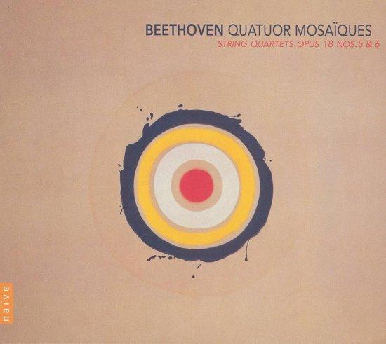 String Quartets Op.18  No.5 & 6//Quatuor Mosaiques