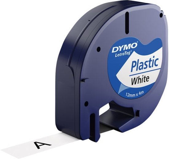 Dymo - 91201 - Letratag - Labeltape Wit