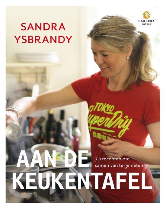 Boek cover Aan de keukentafel van Sandra Ysbrandy (Hardcover)