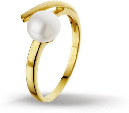 Huiscollectie 4014263 Gouden parel ring