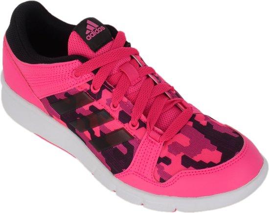 adidas Niraya Sportschoenen Dames  Sportschoenen - Maat 38 - Vrouwen - roze/zwart