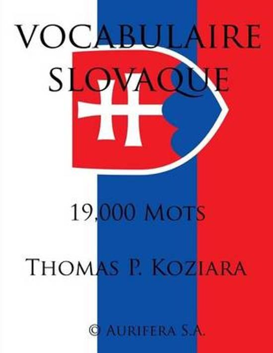 Vocabulaire Slovaque