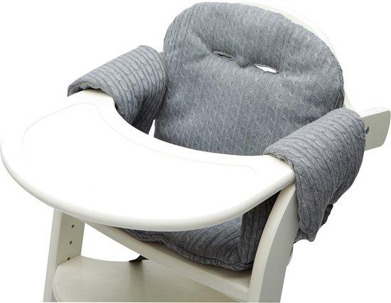 Stoelverkleiner Voor Kinderstoel.Bol Com Stoelverkleiner Grijs Gebreid