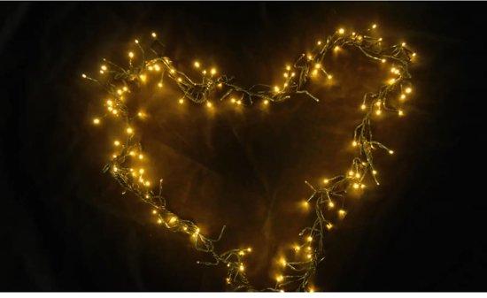 Bol Com Vidaxl Kerstverlichting Buiten Kerstlichtkrans Hart
