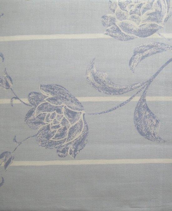 Libelle Florence Dekbedovertrek - Eenpersoons - 140x200/220 cm - Blauw