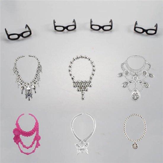 Poppenkleren | Barbiekleren | Modepoppen | Mix 30 Stuks | Jurkjes | Poppen