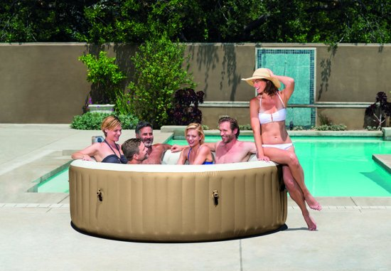 Jacuzzi 'Pure Spa Bubble Massage' - Opblaasbare Jacuzzi